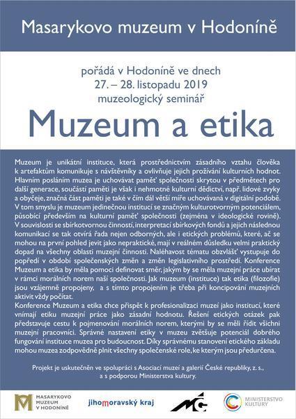 Muzeum a etika plakát, 425x600, 65.64 KB